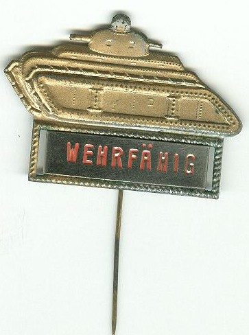 Any idea who wore this pin, and why?