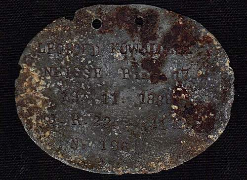 Post Your WW1 ID Discs