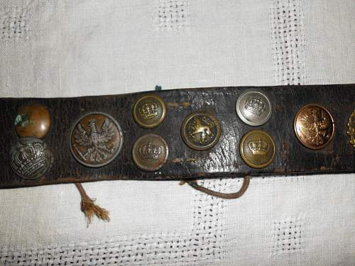 Hate Belt with wound badge Amazing