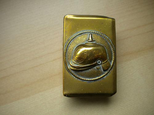 Ww1 brass german matchbox holder?