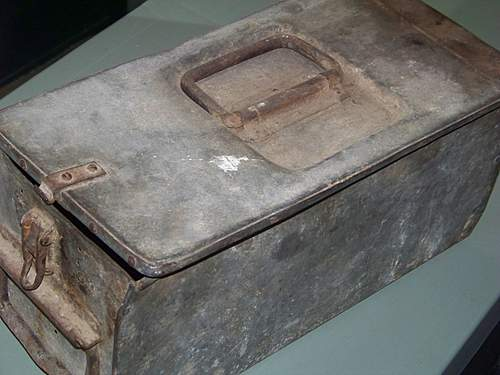 Is this a maxim machine gun ammo box?