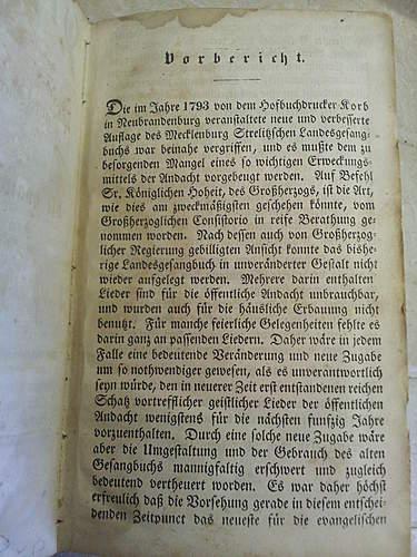 1832 German Hymnal