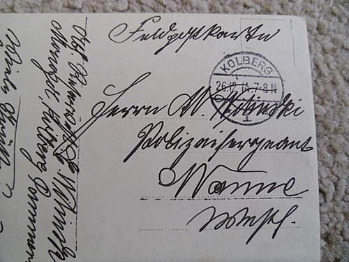 Help with WW1 postcards Pioneer Kp 20
