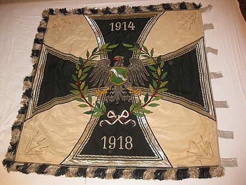 Where can I find a Prussian or German Veteran's standarte?