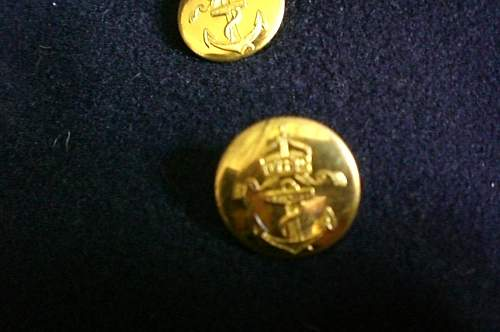 Kaiserliche Marine Mess Jacket 1910