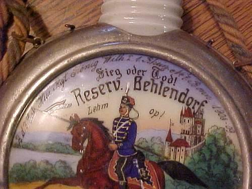 Hussars liqour flask