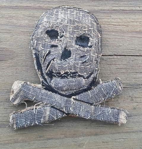 German Skull Insignia FOR REVIEW