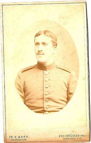 Possible help on Great Grandfather's unit