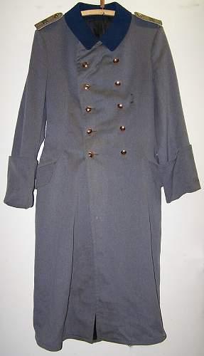 WW1 Bayerische Infanterie Regiment 23 lieutenants overcoat