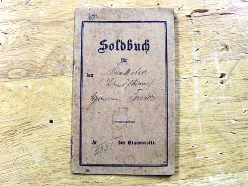 soldbuch research