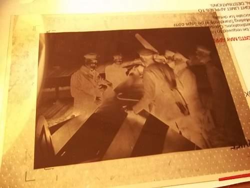 WW1 German Photo Negative