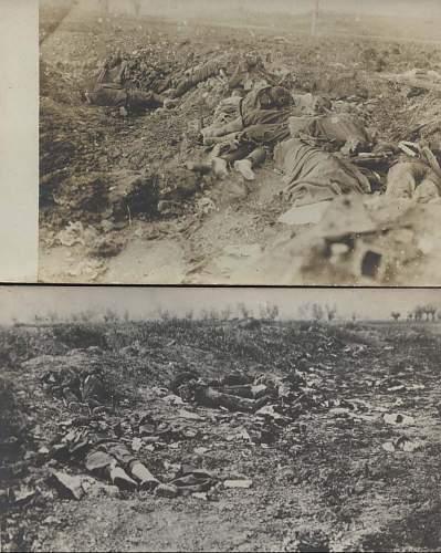 WW1 Feldpost - Unknown Fallen Soldiers