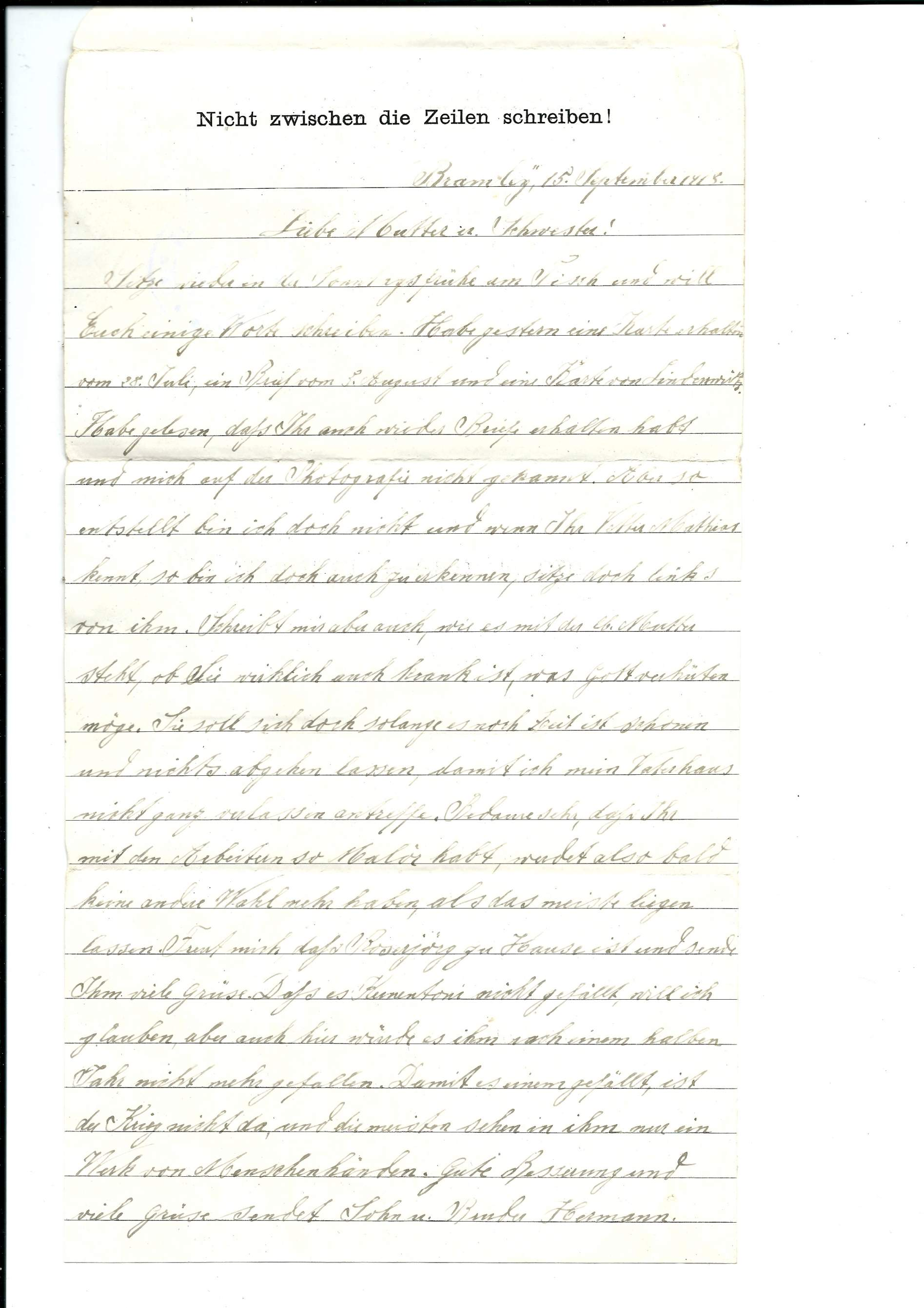 Need help selection of 10 ww1 german pow letters page 3 selection of 10 ww1 german pow letters kristyandbryce Images