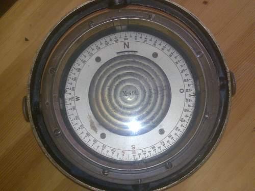 Kompass fur Vorposten- Torpedo- Schnellboote und U-Boote by Carl Bamberg