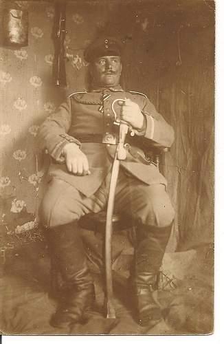 WW1 German Photograph of Officer, awards etc?