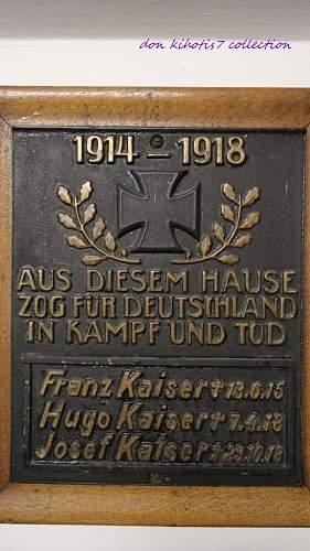 German Soldiers Memorial Picture