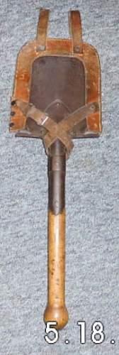 WW1 Feldspaten / Trench Shovel - Makers Mark ?