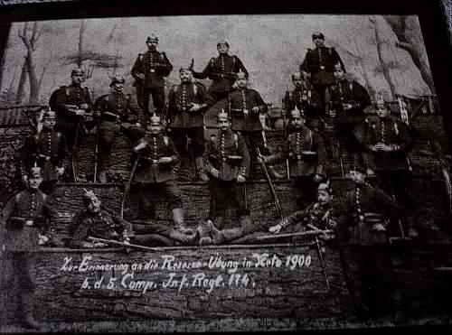 1st Reich 1900 Photo