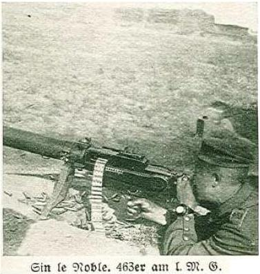 What would be the piping colours on a M1907/1910 Waffenrock of the 463 Infanterie regiment?