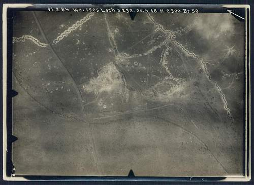 Some aerial photographs, 1918
