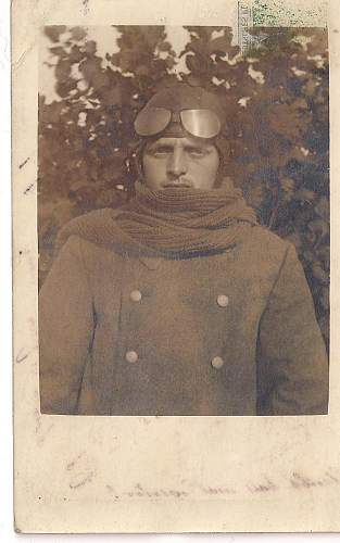 WWI photo postcards
