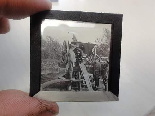 Belgian glass plate photos