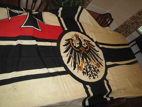 Imperial German Flag help!