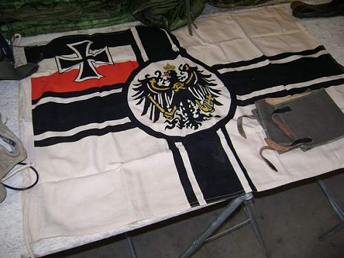 WW1 Bavarian flag. Is it real?