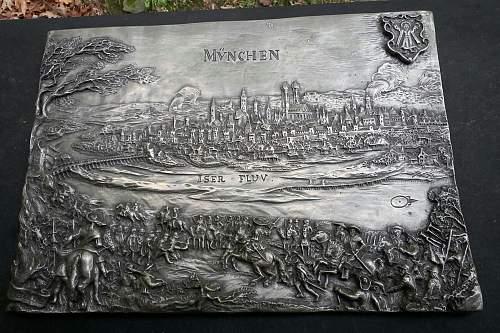 HELP !!!!!!! mystery plaque, pre WW1?