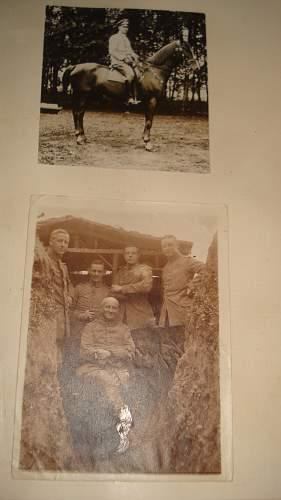 Need Help with Translation WW1 German Photo Album