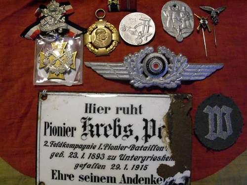 German grave marker??