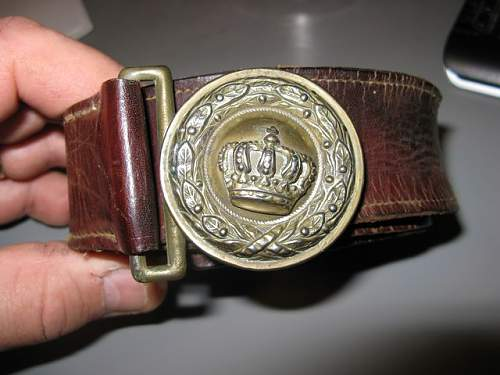 My first Bavarian belt and buckle