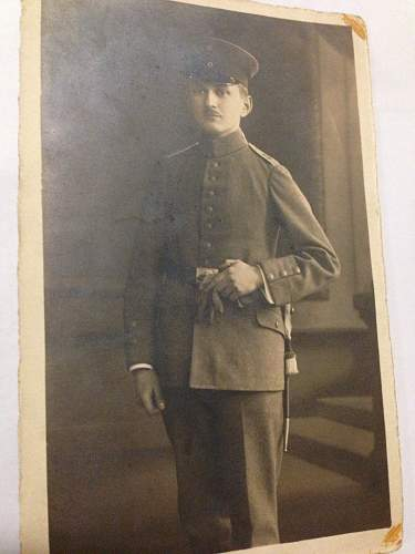 Need help IDing WW1 photo of Great Grandfather-In-Law