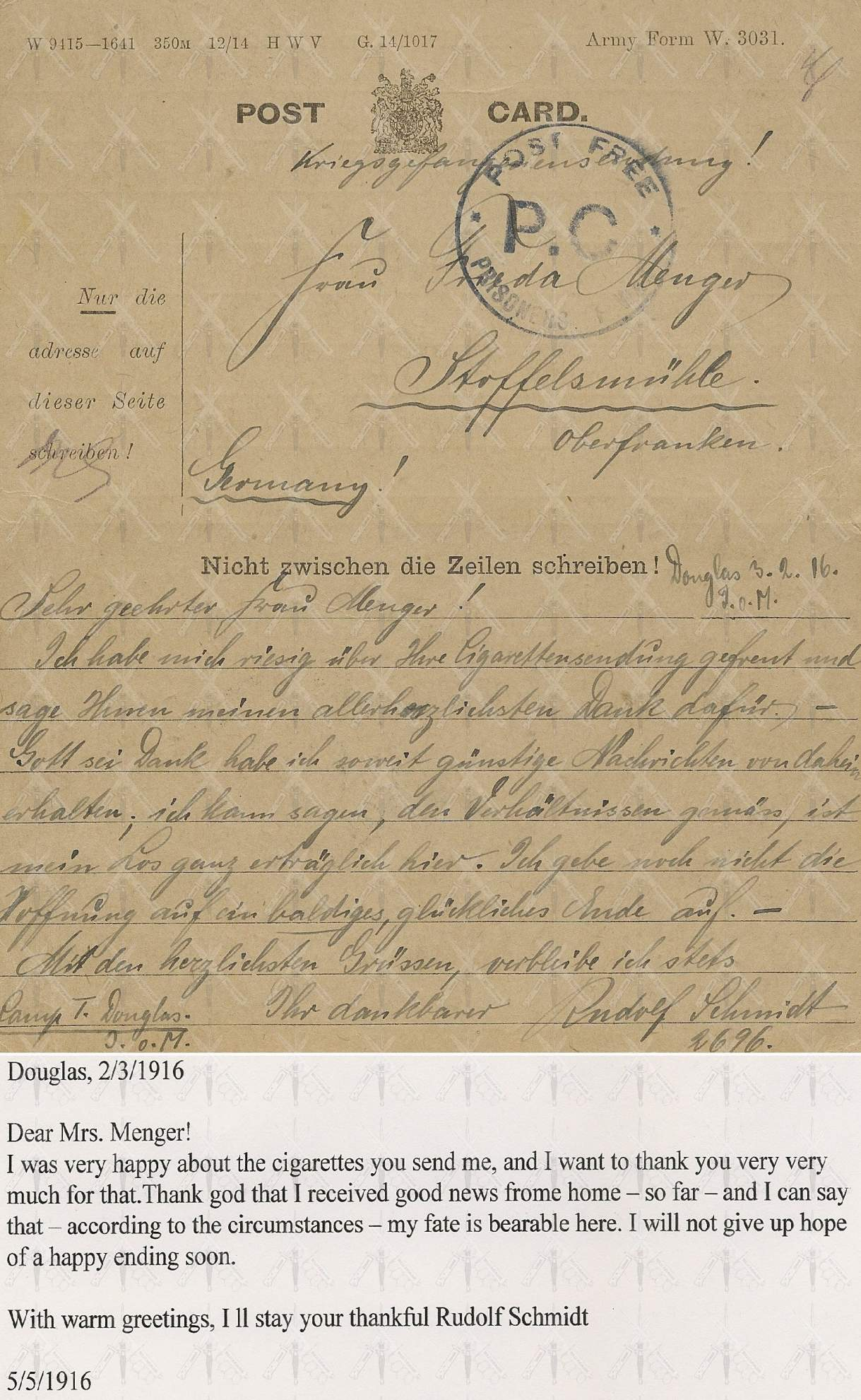 Two wwi german soldiers letters kristyandbryce Images