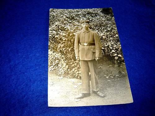 Odd photo of 1917 Conscript...