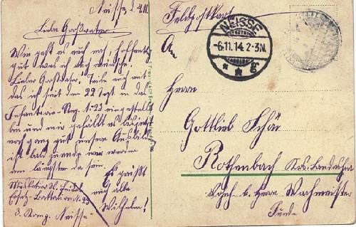 Postcard translation