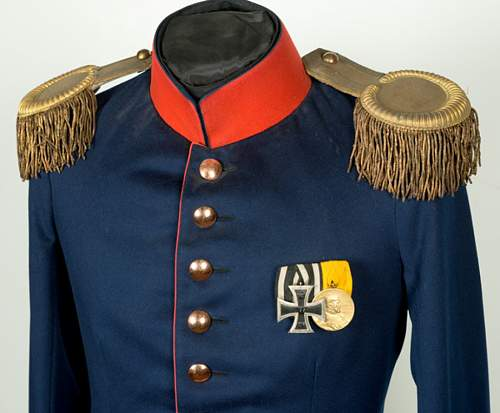Imperial German Model 1895 Infantry Officer's Tunic
