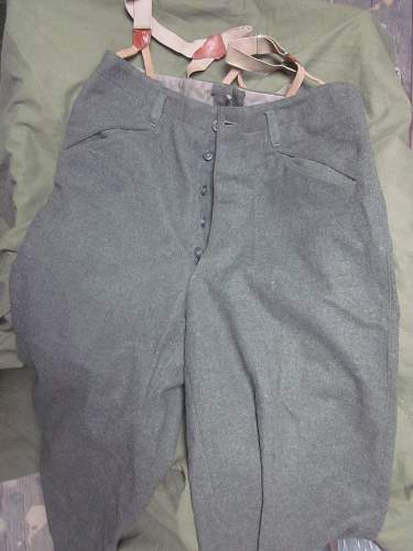 unknown pants for ID (bought as prussian in 1984)