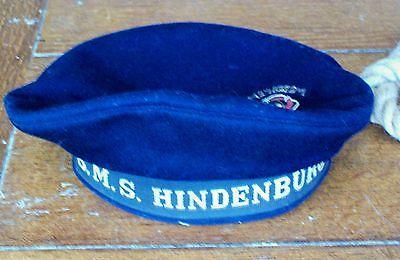 WW1 Imperial German Navy Ratings Cap