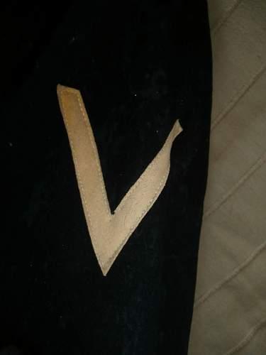 WW1 U-boot jacket.