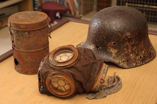 WW1 German Gasmask