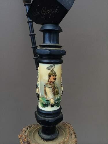 Imperial Regimental Stag Pipe