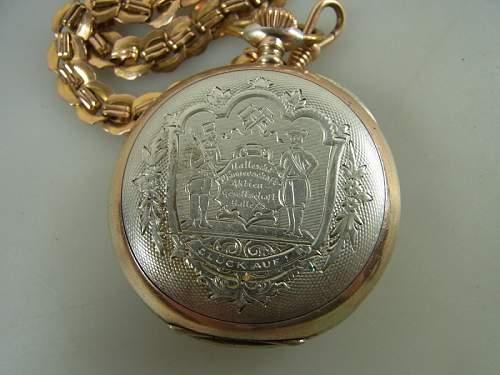 1914 Miners Pocket Watch