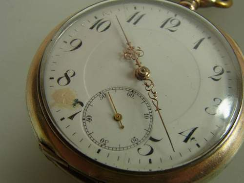 1914 Miners Pocket Watch