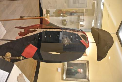 Frederick The Great uniform and award.