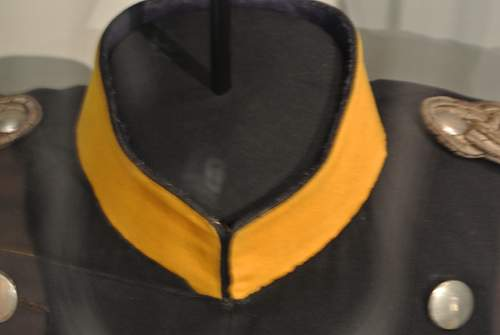 Bismarck's Head dress and uniform.