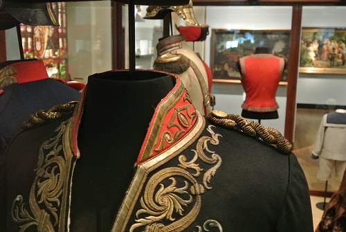 Captains uniform of Kaiser- Alexander-Garde Grenadier -Regiment