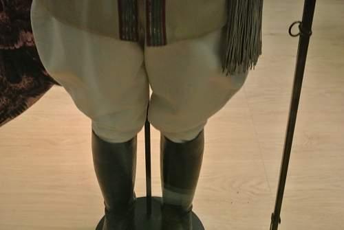 Wilhelm Kaiser's Guarde De Corps uniform