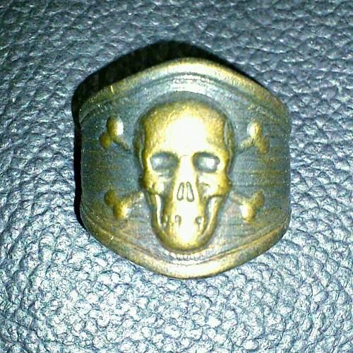Freikorps Totenkopf Ring?