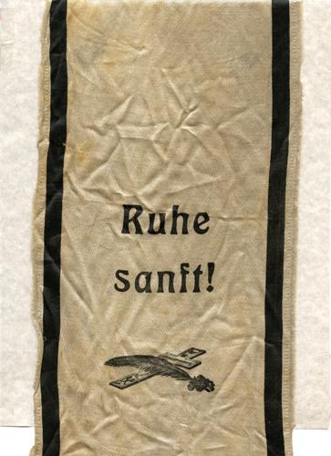 funeral sash